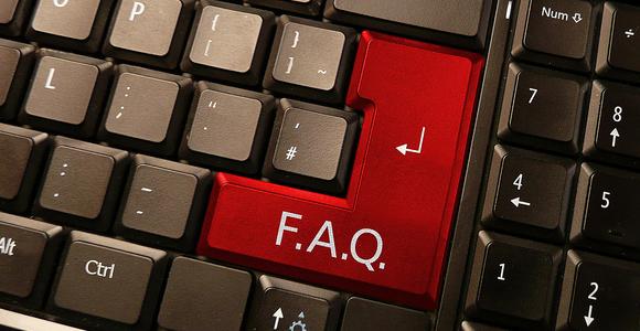 F.A.Q Foire aux questions numériques |